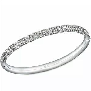 Swarovski Crystal Stone Bangle Bracelet